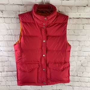 J. Crew Down Filled Puffer Vest Women's Size M